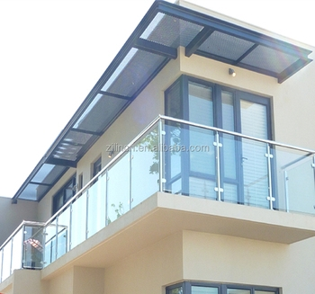 Top Grade Quality Stainless Steel Terrace Railing Designs Glass | Stairs Railing Designs In Steel With Glass | Single Wall | Interior | Eye Catching | Steel Main Gate | Contemporary