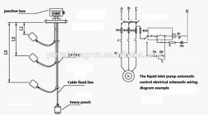 Usk99l Hot Sales Cable Float Level Switch Water Level