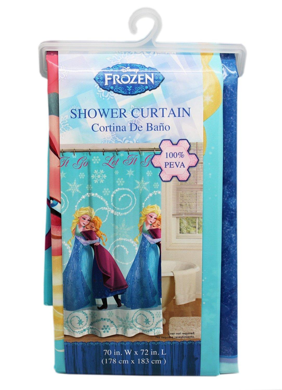 Buy Disneys Frozen Anna Hugging Elsa Shower Curtain Rings