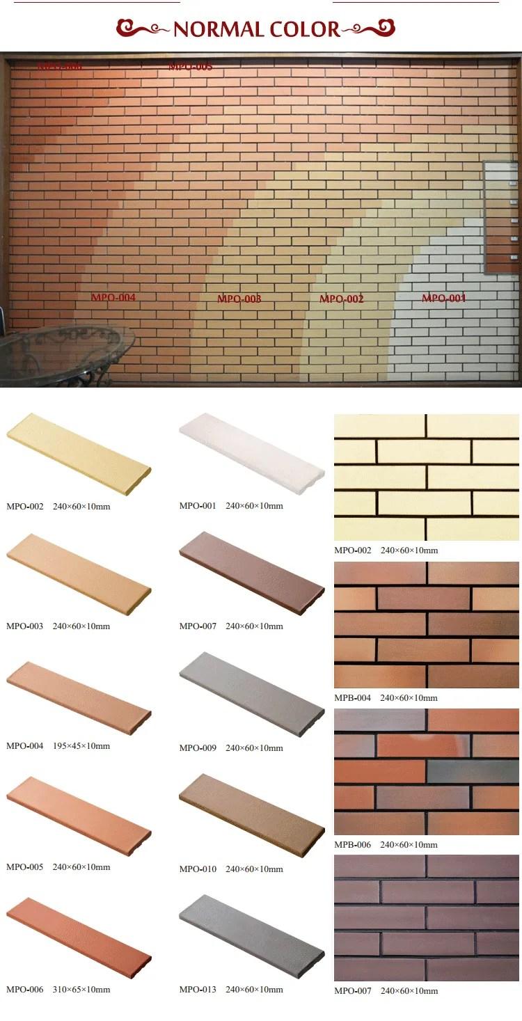 outside exterior red thin wall tile klinker brick veneer panel look wall tile buy wall tile brick thin brick veneer outside wall brick panel product