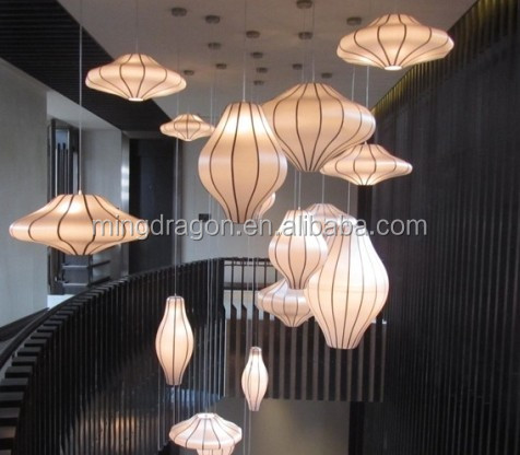 Hanging Chinese Fabric Lantern For Indoor Decoration Buy