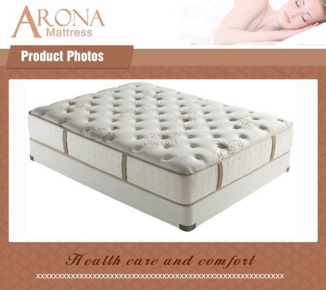 Deluxe Quality Pocket Spring 5 Zone Orthopedic Mattress Chinese Sleepwell