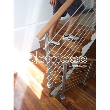 Chrome Handrails For Stairs Decorative Wood Handrails Buy | Decorative Handrails For Stairs | Main Entrance | Solid Wood | Different Style | Elegant | Steel Pipe