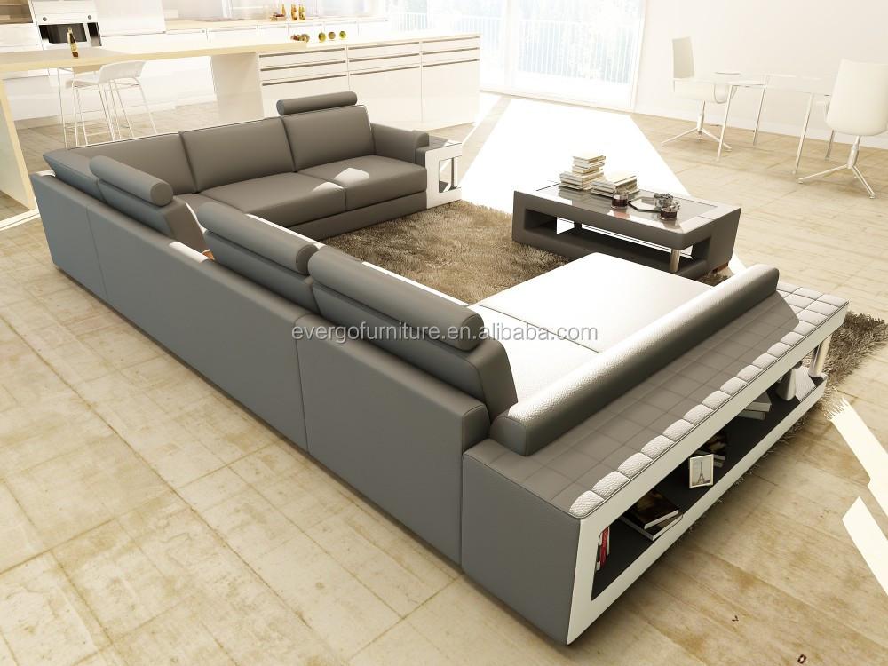 gris couleur canape sectionnel salon canape moderne en cuir veritable canape