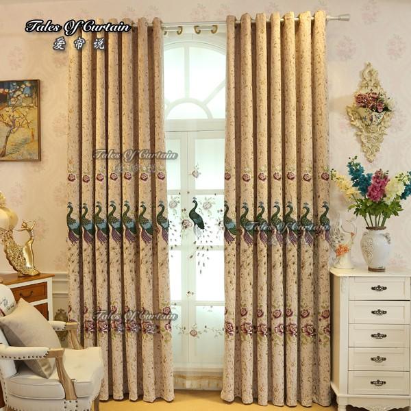 rideau de salon tres epais modele de rideau tissu brode de chenille occultant buy tissu rideau bon marche tissu imprime paon tissu rideau