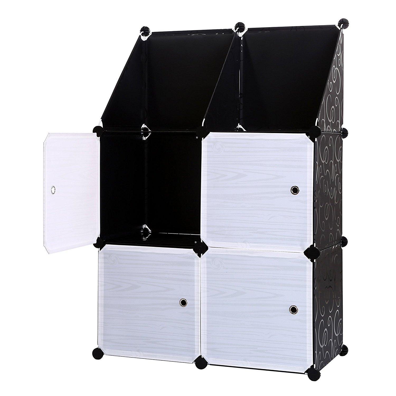 Buy 3 Tier Bookcase Storage Cabinet Cube Closet Organizer