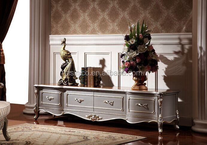 European Style Living Room Furniture Tv CabinetElegant