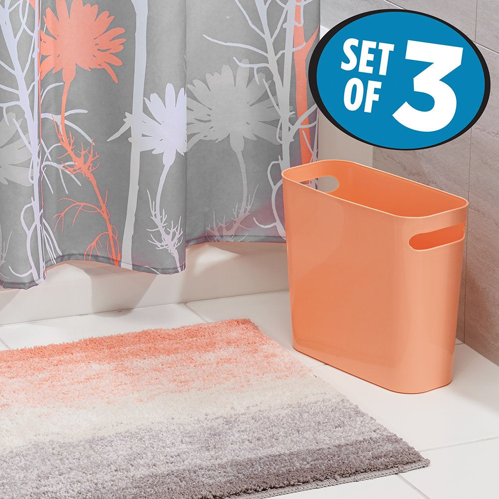 buy mdesign floral fabric shower