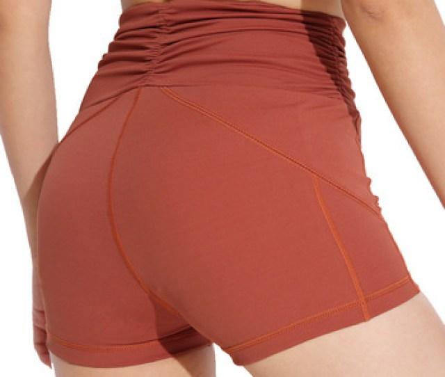 Sexy Scrunch Butt Girls Booty Mma Sweat Board Boxer Shorts
