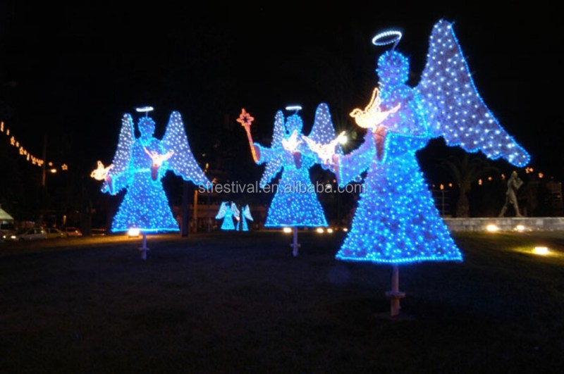 Christmas Angel Outdoor Decorations Billingsblessingbags Org