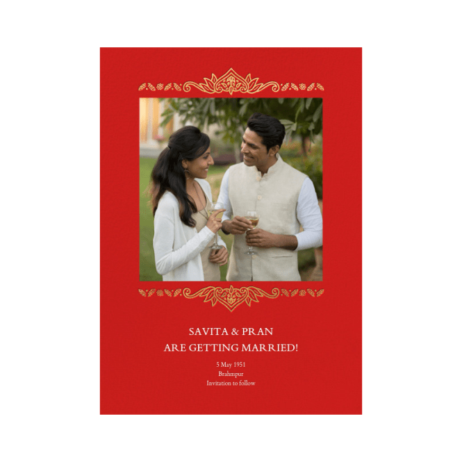 High Quality Elegant Hindu Wedding Invitations Indian