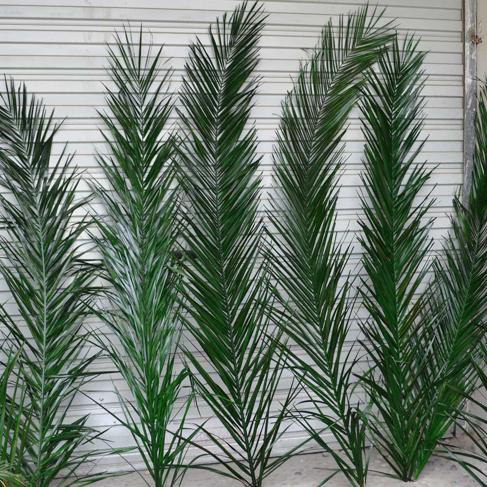 Wholesale Artificial Palm Leaves Fake Artificial Leaves