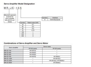Mitsubishi Mrje300a  Hgsn302js100 Servo Amplifier And