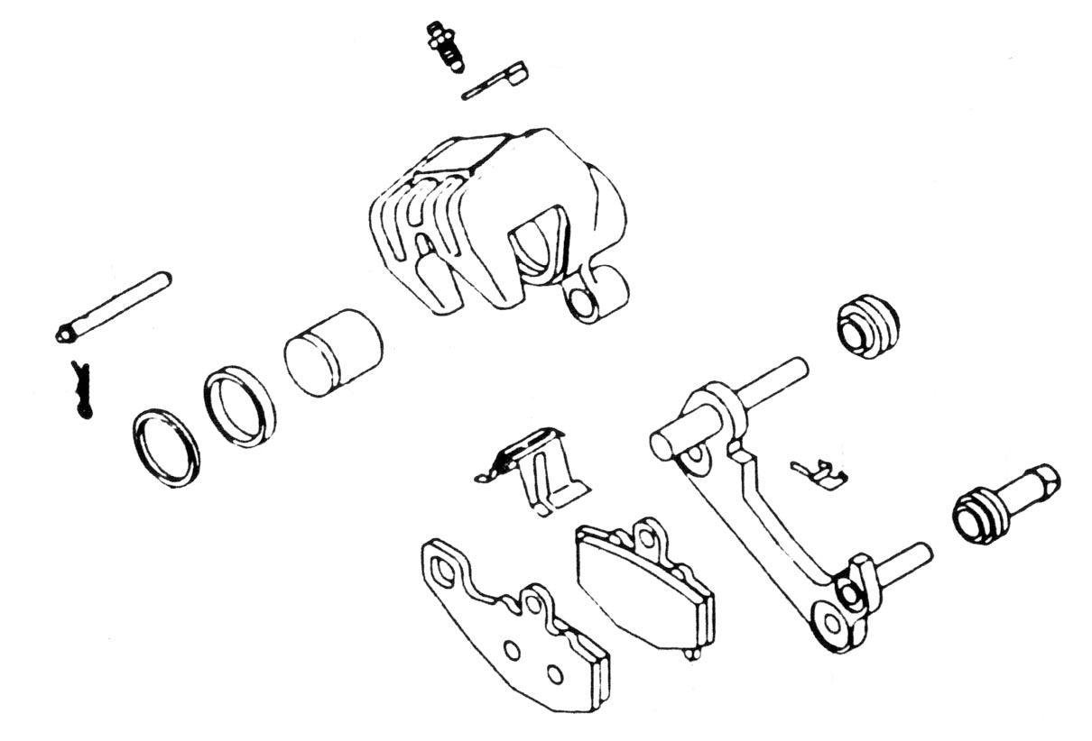 Get quotations · k l supply brake caliper rebuild kit 32 7599