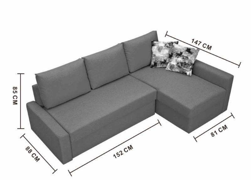 Small Corner Sofa Dimensions Crepeca Com
