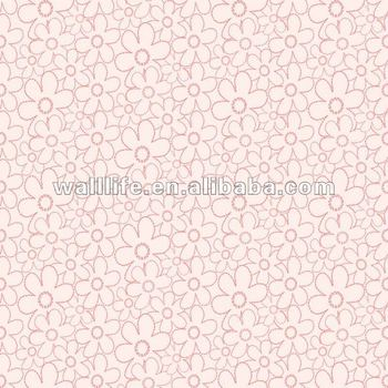 Geometric Flowers Design Kids Bedroom Pvc Wallpaper Girls Room Decor Buy Eco Friendly Kids Bedroom Wallpaper Modern Design Kids Wallpaper Decorate Vinyl Wallpaper Product On Alibaba Com