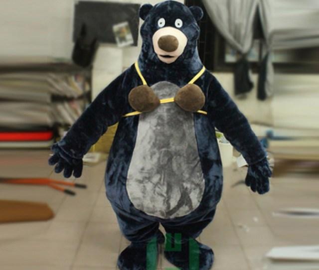 Funny Custom Adult Baloo Bear Costume Mascot Buy Adult Baloo Bear Costume Product On Alibaba Com
