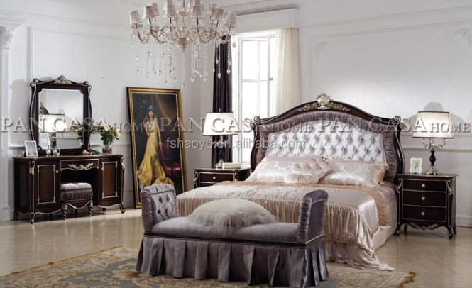 Royal Style Bed Spanish Beds French Provincial Bedroom Furniture