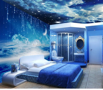 3d Effect Outer Space Wall Mural Wallpapers For Home Decoratiom And     3d effect outer space wall mural wallpapers for home decoratiom and Roof