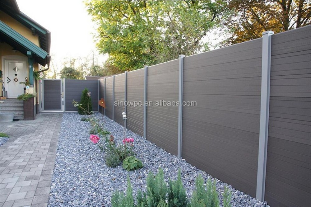 Outdoor Wood Plastic Composite Low Price Wpc Fence