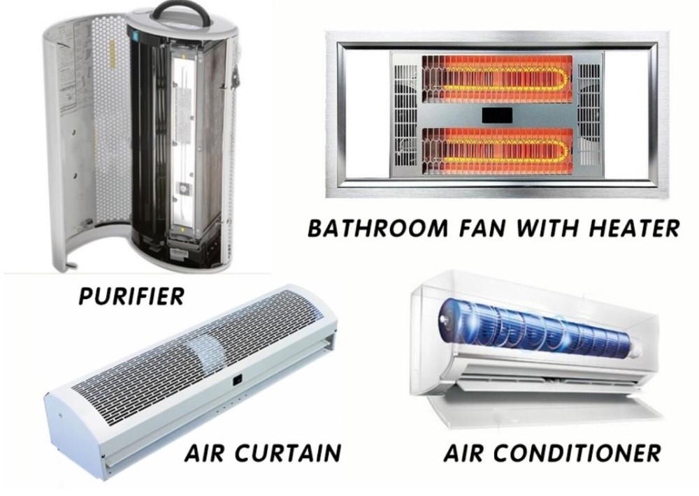 High Performance Air Curtain 208 240v Single Phase Heated Home