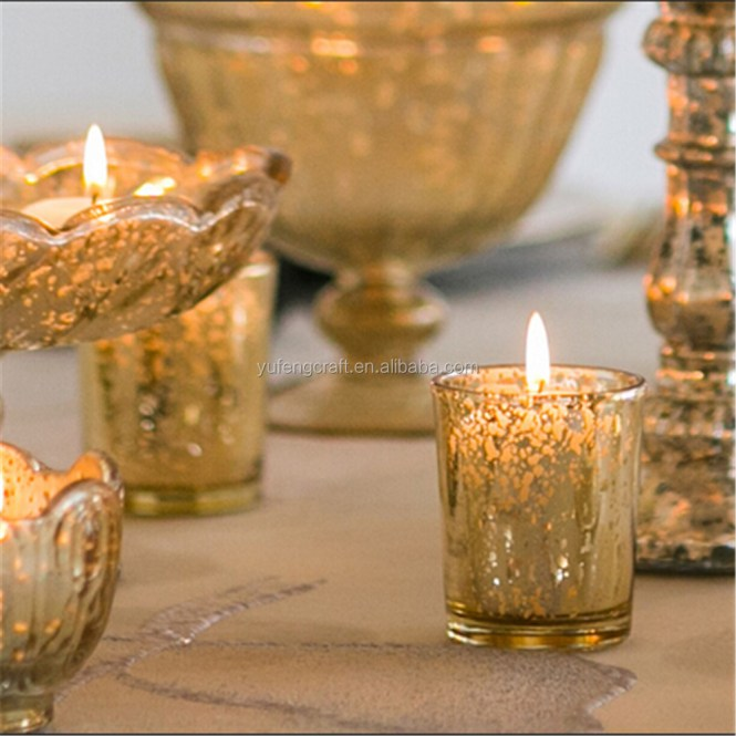 Candlelight Wedding Decorations With Decorative Votive Candles