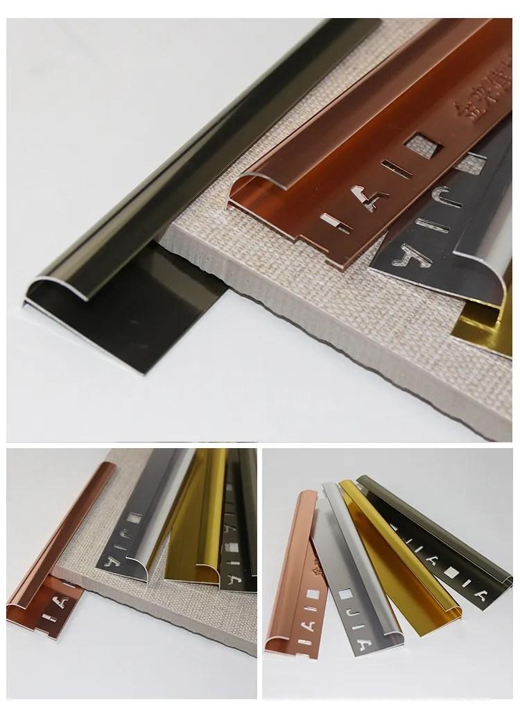 aluminium sliver polishing trim bronze metal tile trim angle shape corner aluminium ceramic tile trim tile corner edging buy flexible tile trim l