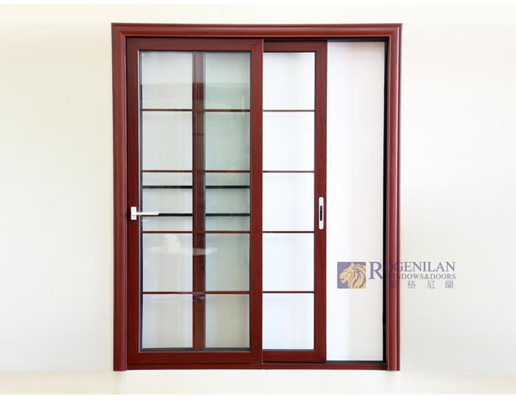 Rogenilan 80 Aluminium Lowes Interior Sliding Glass Patio