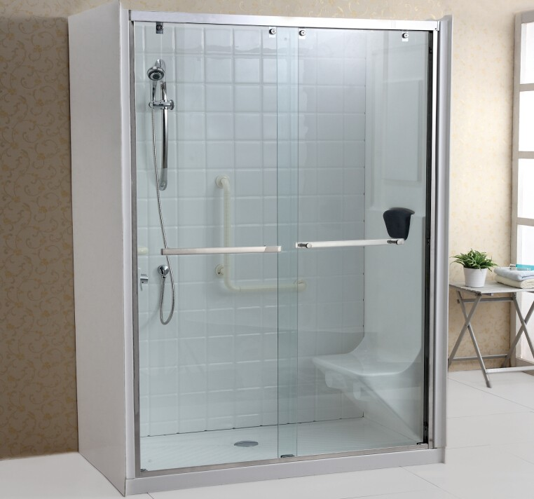 2 Sided Shower Enclosure With Seat Buy Walk In Shower Enclosure2 Sided Shower Enclosure2