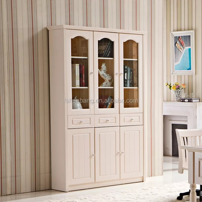 etagere a livres en bois noir et blanc mdf meuble avec porte en verre buy etagere de meubles etagere de meubles en bois etagere avec porte en verre
