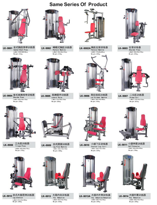 Names Of Workout Machines At The Gym