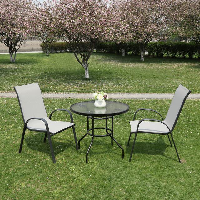 muebles de exterior de alta calidad para jardin patio piezas de silla plegable juego de mesa silla de cafe salon de espera juego de comedor buy