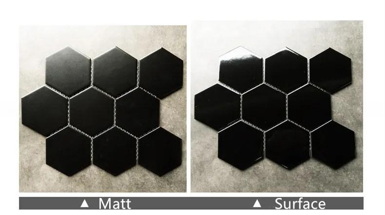 black hexagonal honeycomb shape dazzle ceramic mosaic tile porcelain floor tiles buy black hexagonal tile black hexagonal tile black hexagonal tile