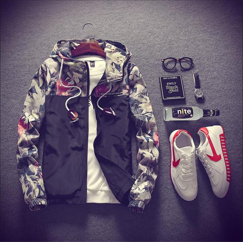 HTB1zTb8gMvD8KJjSsplq6yIEFXaL Floral Bomber Jacket Men Hip Hop Slim Fit Flowers Pilot Bomber Jacket Coat Men's Hooded Jackets Plus Size 4XL ,