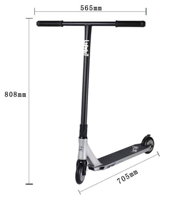 Freestyle Extreme Cheap Pro Scooters Silver Pedal Kick ...