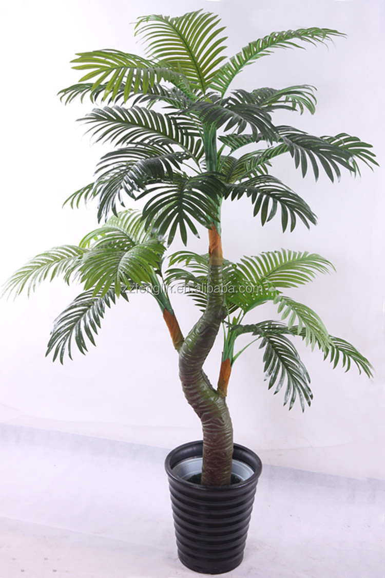 Wholesale Artificial Indoor Palm Tree Chrysalidocarpus Lutescens Decorative Palm Plant Tree All