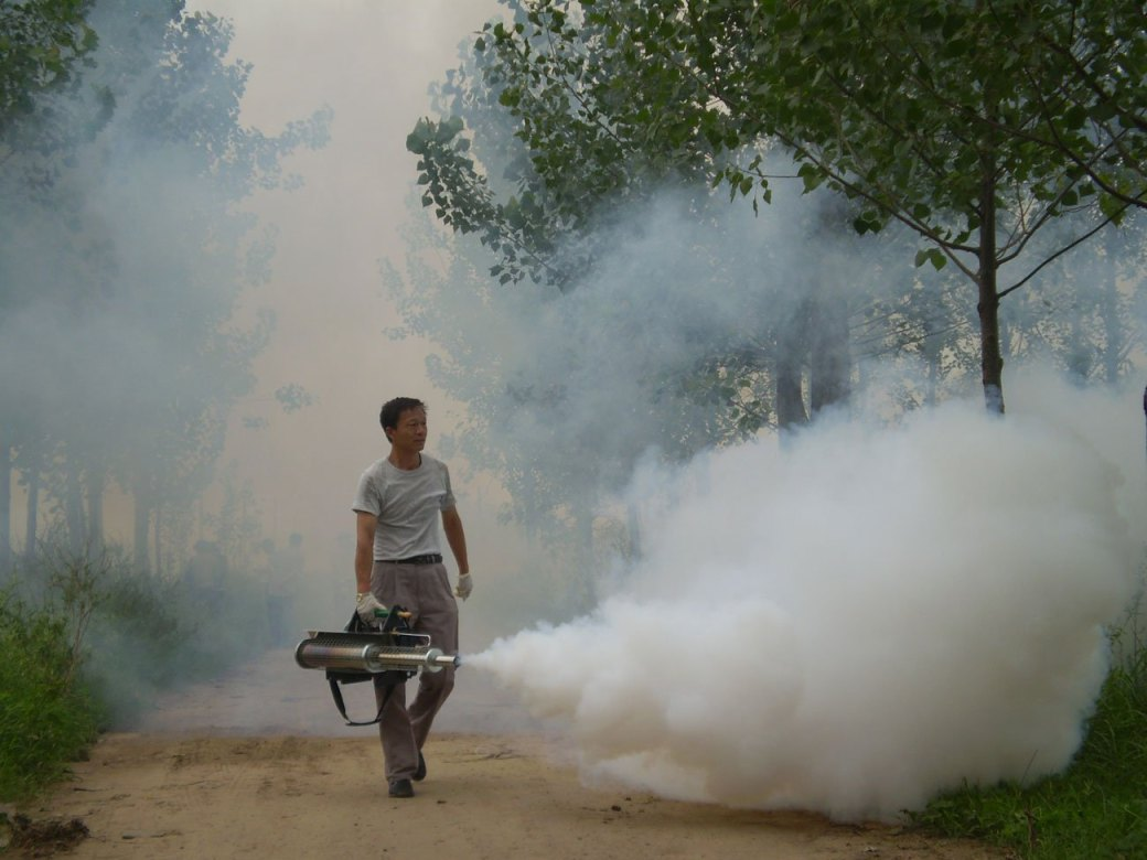 Portable Sanitizing & Disinfecting Mosquito Killer Fogging Machine ...