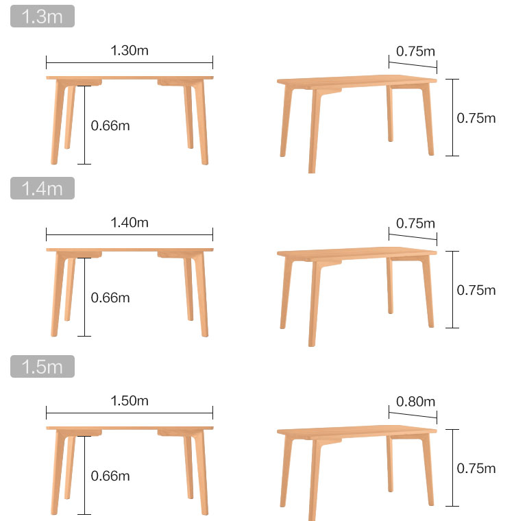 Morden Dining Room Wooden Furniture Wood Chairs Set And Dining Table