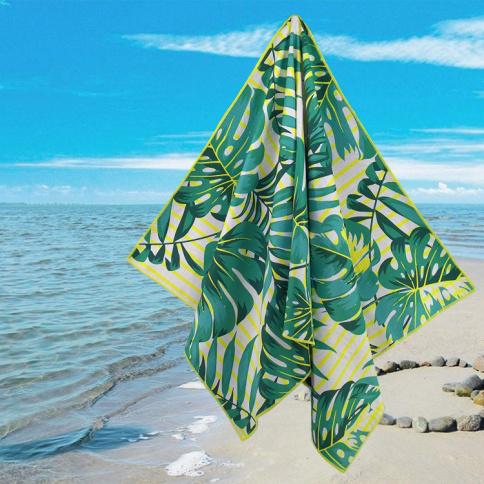 Custom Multi-purpose Printing High Quality Durable Microfiber Beach Towel With Personalized Logo