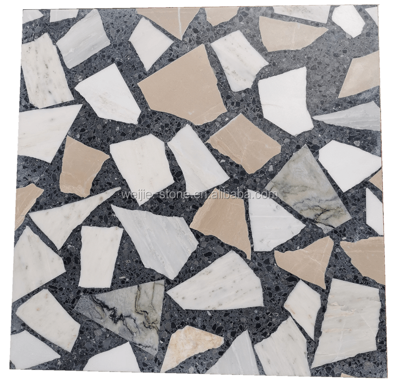 marble and terrazzo crazy pattern tile slab 24x24 buy terrazzo crazy pattern 24x24 terrazzo crazy pattern 24x24 tile marble and terrazzo crazy