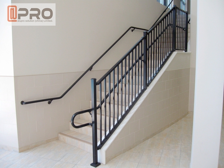 Aluminium Glass Railing Lowes Handrails For Outdoor Steps For Sale | Outdoor Railings For Steps | Exterior | Outside | Residential | Staircase | Interior