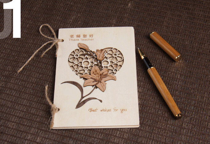 Laser Engraved Eco Friendly Wooden Greeting Card Buy