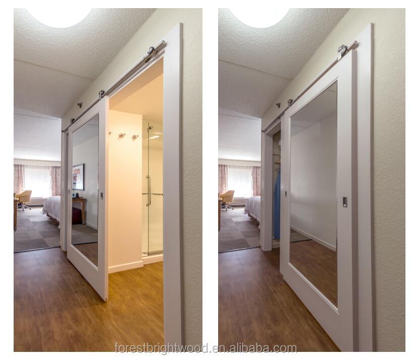 4 Panel Sliding Mirror Closet Doors