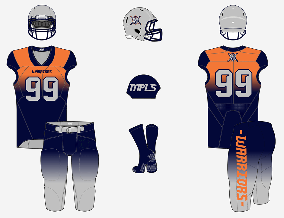 Download American Football Jersey Mockup