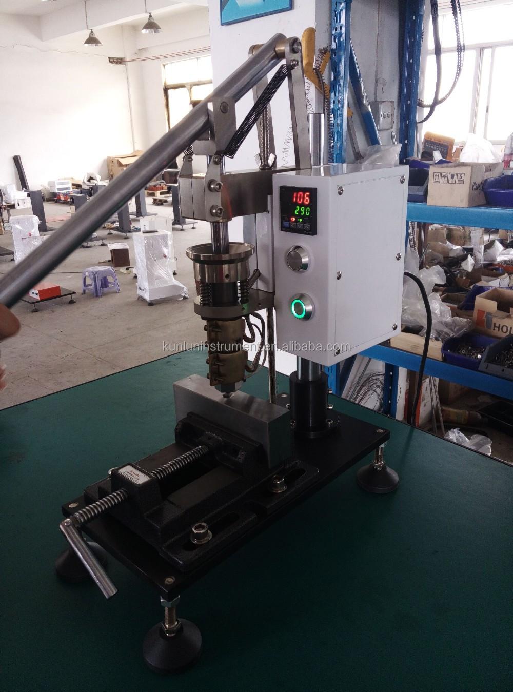 Desktop Simple Manual Press Plastic Injection Moulding