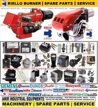 Riello Burner Boiler Spare Parts Pump Nozzle Electrode Ignition Transformer Sensor Dealer Supplier Maintenance In Dubai