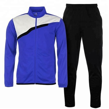 Micro twill track suit. Men gender and track suit type micro twill track suit