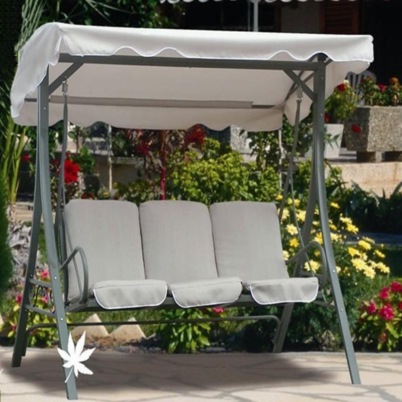 fauteuil balancoire pour 1 ou 2 personnes design simple en metal pour balcon buy chaise pivotante de balcon chaise d oscillation de 2