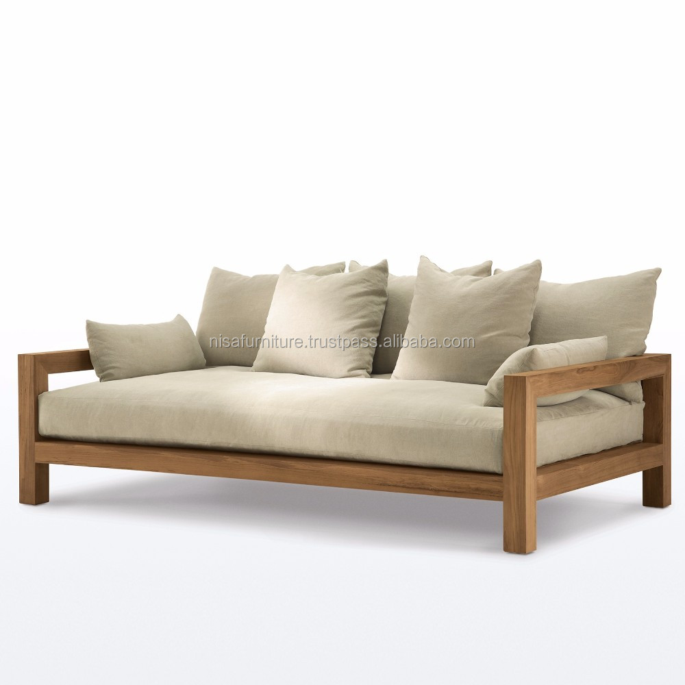 wooden teak outdoor sofa bed daybed indonesia patio furniture otherhomefurniture buy sofa bed otherhomefurniture outdoor furniture product on