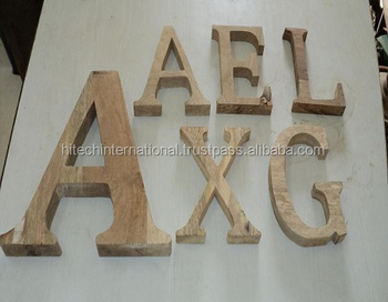 Solid Wood Letters For Home Decor Antique Wooden Letters Decorative     Solid Wood Letters For Home Decor Antique Wooden Letters Decorative Wooden  Alphabet Letters